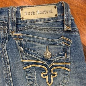 Rock Revival Christina Boot Cut Jeans